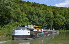 Le Canal Entre Champagne et Bourgogne. photo wikipédia