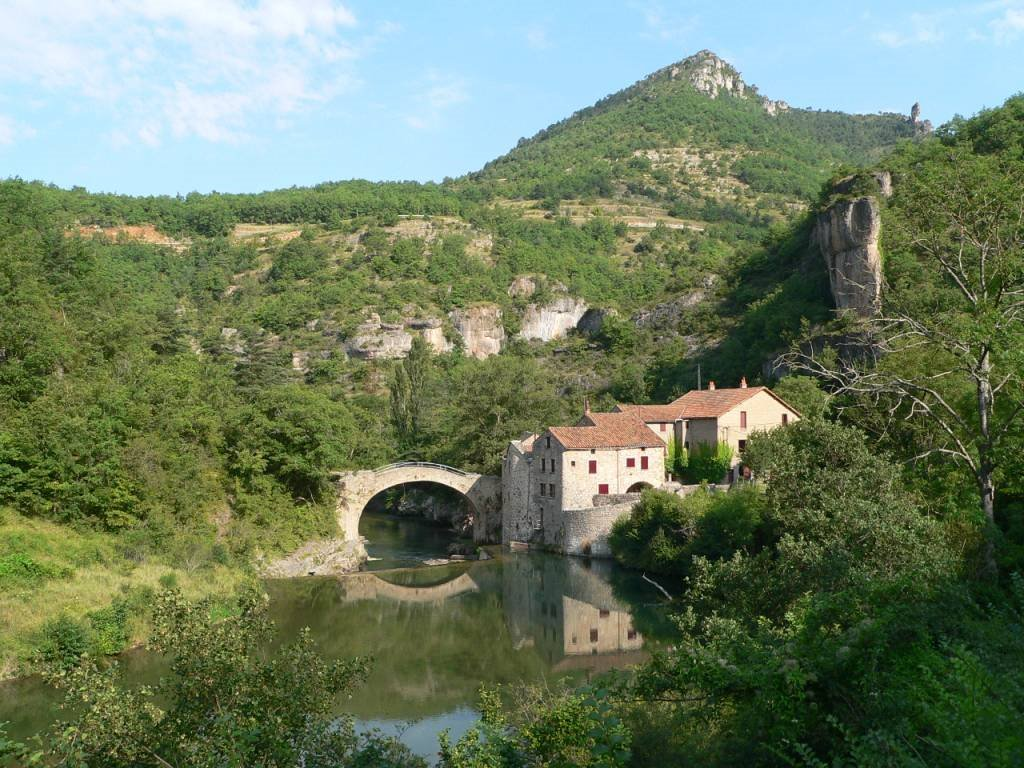 La vallée de la Dourbie, le Moulin de Corps