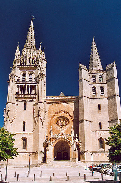 Cathédrale de Mende Par GIRAUD PatrickCalips CC BY-SA 1.0 de Wikimedia Commons