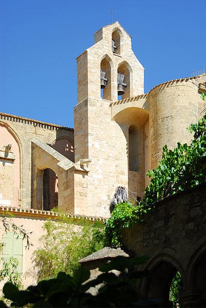 Abbaye de Valmagne By Jochen Jahnke via Wikimedia Commons