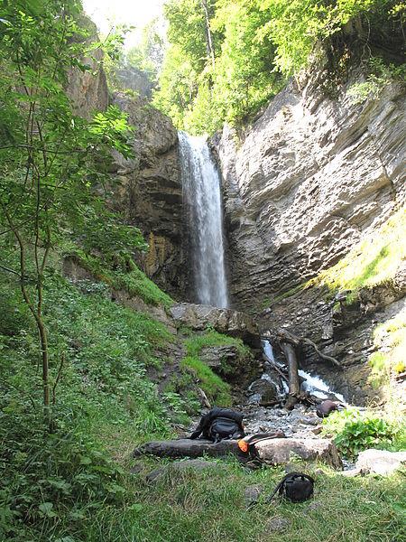 Cascade de Saubaudy Par Tangopaso [Public domain] via Wikimedia Commons