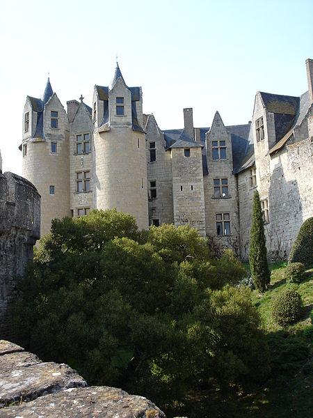 Château de Montreuil Bellay By Thouta CC BY-SA 3.0 via Wikimedia Commons