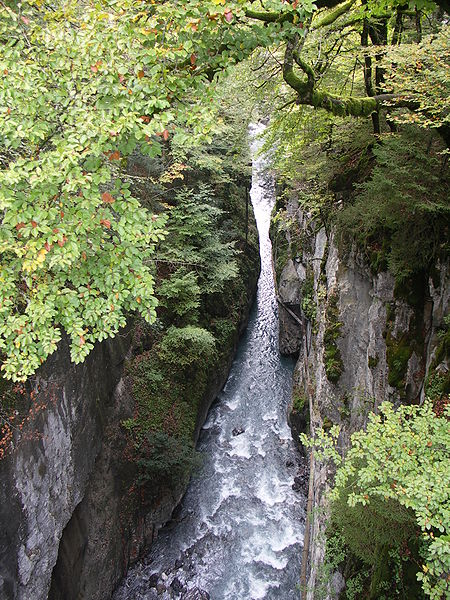 Les Gorges de Tines Par Ccmpg (Travail personnel) CC BY-SA 3.0  via Wikimedia Commons
