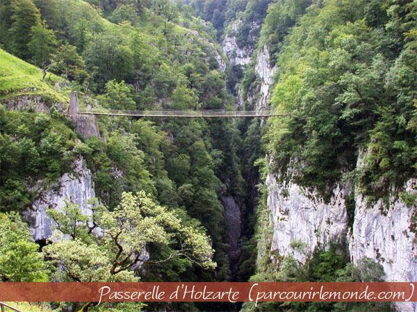 Canyons d'holzarté et d'Olhadubi