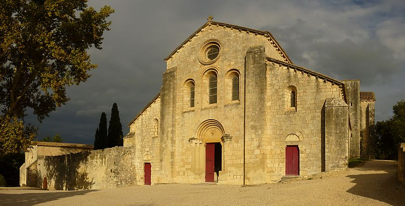 Abbaye de Silvacane By Borvan53 CC BY-SA 3.0 via Wikimedia Commons