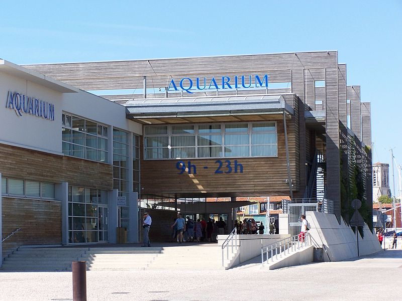 Aquarium de la rochelle By William Scot CC BY-SA 2.5  via Wikimedia Commons