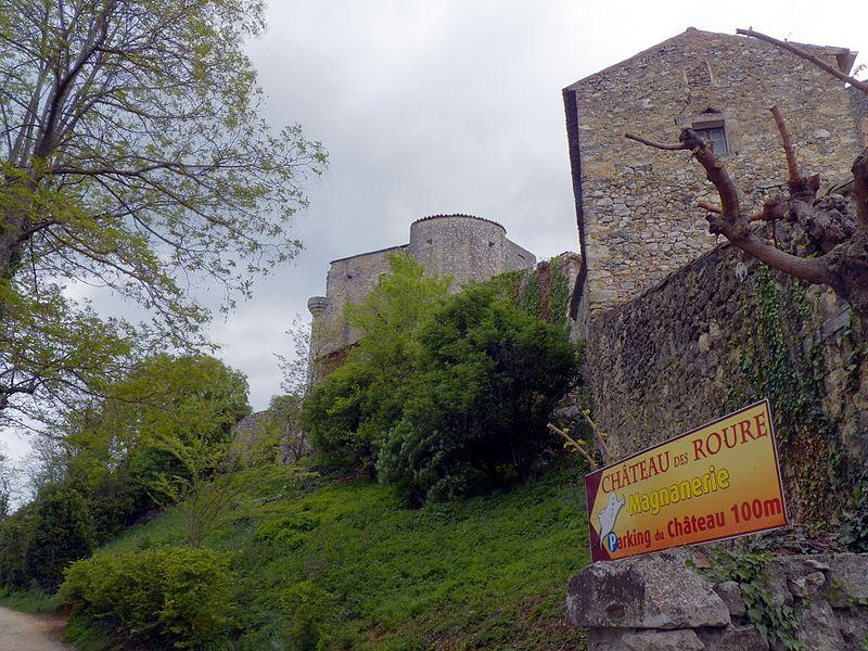 Château des Roure By Alainauzas CC BY-SA 3.0 via Wikimedia Commons