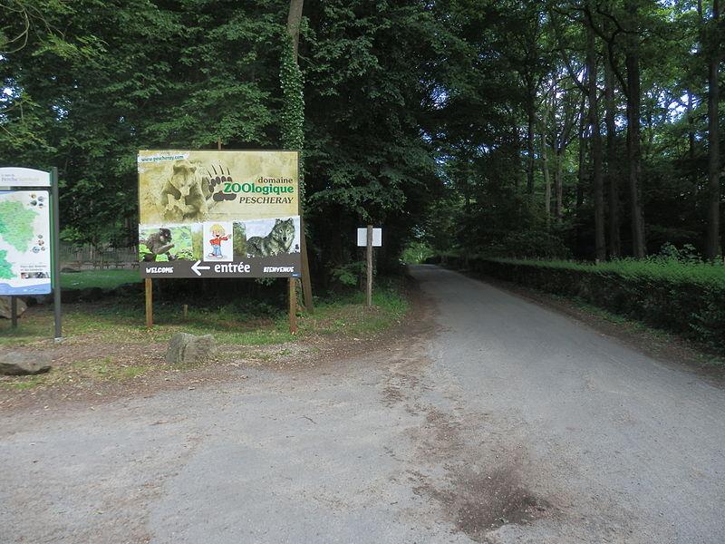 Domaine zoologique de Pescheray By Yodaspirine (Own work) CC BY-SA 3.0 via Wikimedia Commons