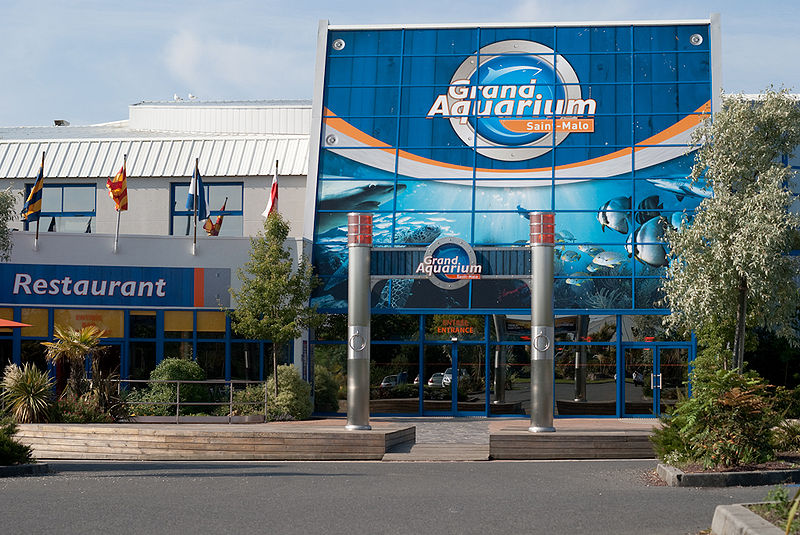 Grand aquarium Saint-Malo By MaxTab CC BY 3.0 via Wikimedia Commons