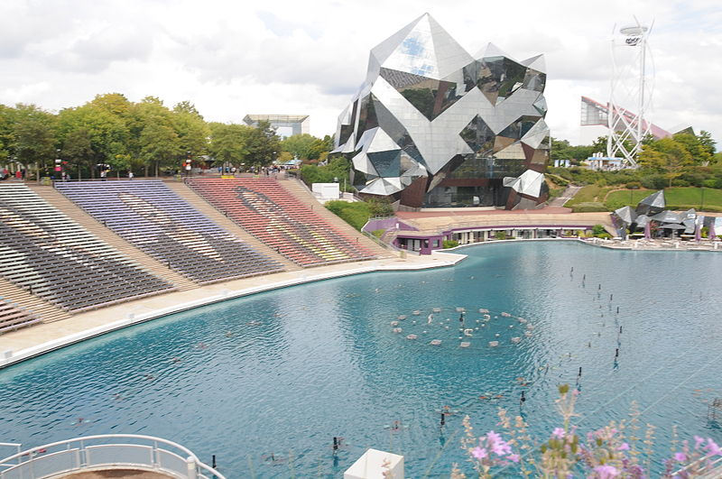 Futuroscope By Joseolgon CC BY-SA 4.0 via Wikimedia Commons