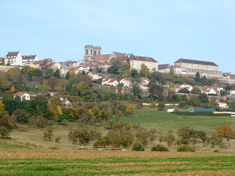 La Cité Fortifiée de Langres By Vassil via Wikimedia Commons