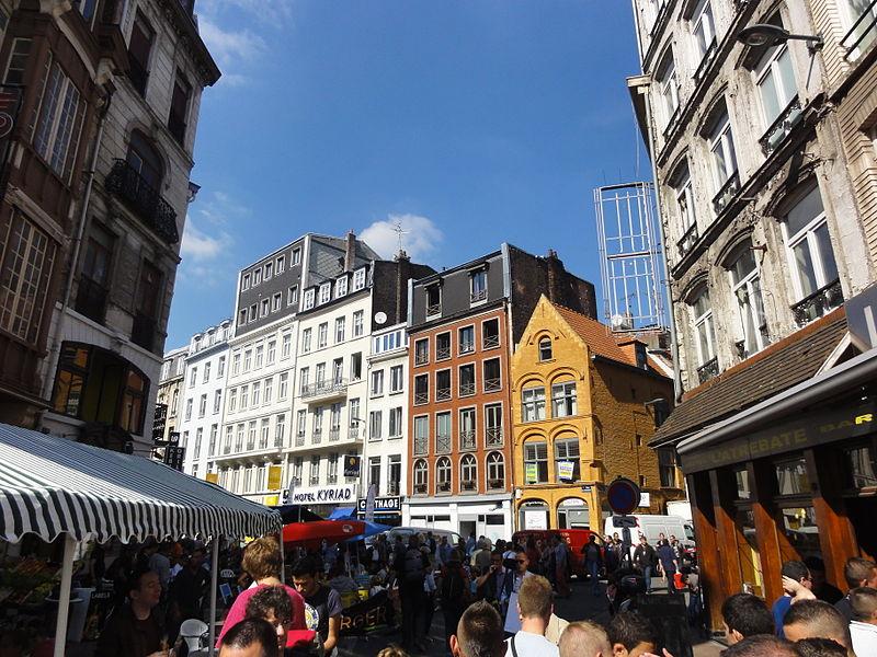 Braderie de Lille Jérémy-Günther-Heinz Jähnick via Wikimedia Commons