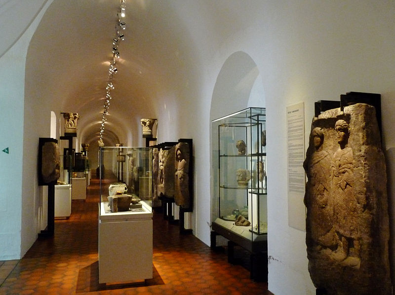 Musée Archéologique de Strasbourg By Ji-Elle (Own work) CC BY-SA 3.0 via Wikimedia Commons