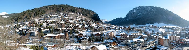 Morzine By The original uploader was Snip at French Wikipedia CC BY-SA 1.0via Wikimedia Commons