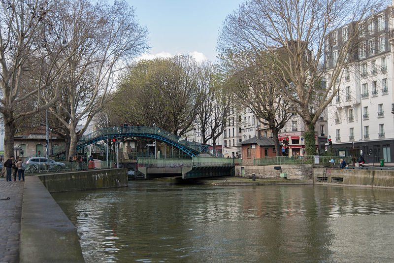 Paris Canal By Inocybe - Piero d'Houin CC BY-SA 3.0 via Wikimedia Commons