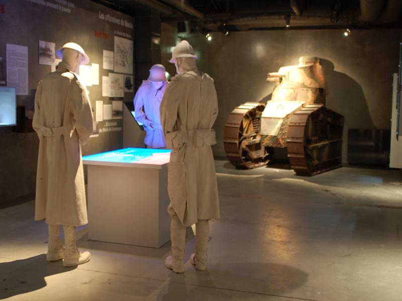 Centre d'interprétation de la Marne 14-18 photo du centre d'interprétation de la Marne 14-18