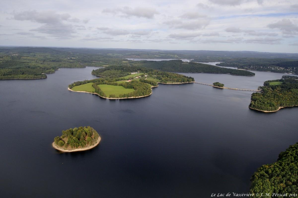 Le Lac de Vassiviere©J M Pericat_2011