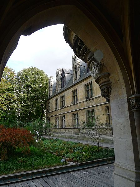 Musée de Cluny By Mbzt (Own work) CC BY 3.0 via Wikimedia Commons