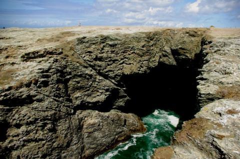 Grotte de l'Apothicairerie (entrée sud)