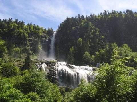 La Cascade d'Ars