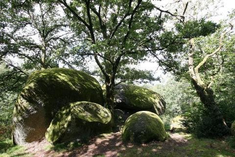 Les rochers de Puychaud