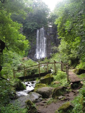 La Cascade de Vaucoux ou d'Anglard