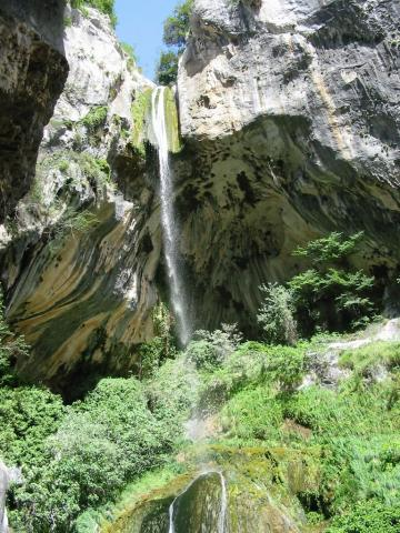 La cascade de Courmes