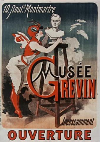 Musée Grévin By Chéret, Jules (1836-1932) [Public domain] via Wikimedia Commons
