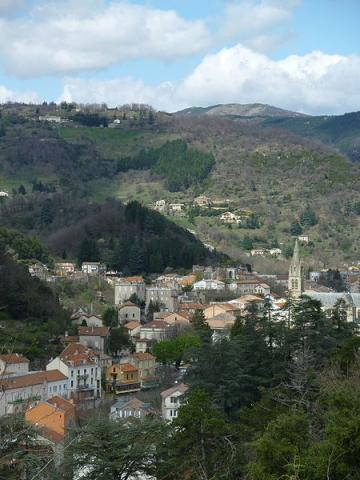 Vals les Bains By Veronimot  via Wikimedia Commons