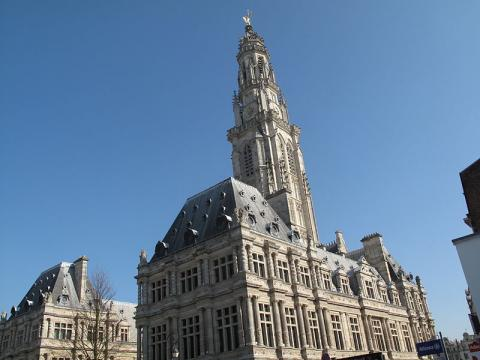 Beffroi d'Arras By MarcJP46 CC BY-SA 3.0 via Wikimedia Commons
