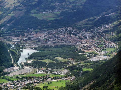 Les Arcs Bourg-Saint-Maurice Marek Slusarczyk CC BY 3.0 via Wikimedia Commons