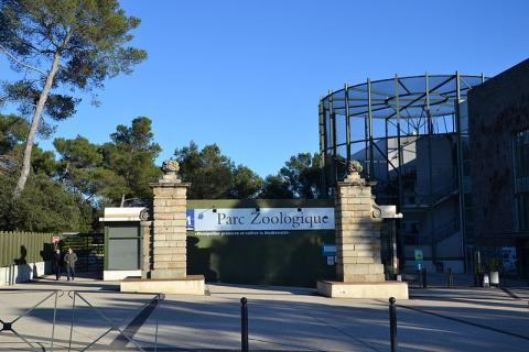 Parc zoologique de Lunaret By Sapin88 (Own work) CC BY-SA 4.0 via Wikimedia Commons