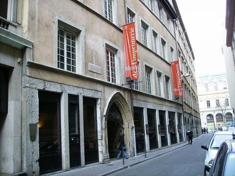 Musée de l'imprimerie de Lyon By Alorange Public domain CC BY-SA 3.0 via Wikimedia Commons