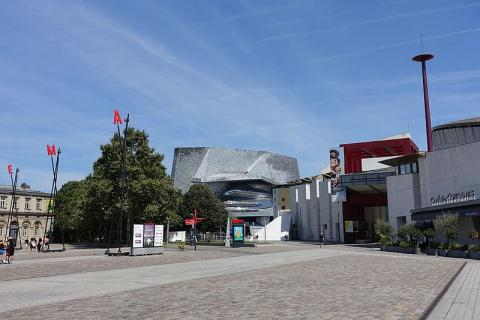 Cité de la musique, Philharmonie de Paris Par Guilhem Vellut CC BY 2.0  via Wikimedia Commons