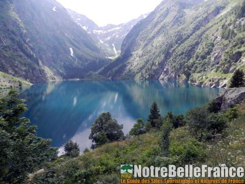 Le magnifique lac du Lauvitel