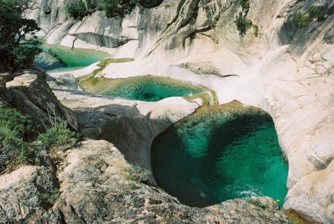 Les cascades de Purcaraccia