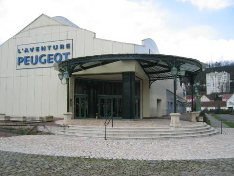 Musée de l'Aventure Peugeot By User:Arnaud 25 [Public domain], via Wikimedia Commons