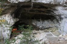 La grotte de la Luire
