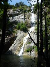 La cascade de la Bujia