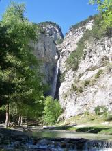 Cascade Saint Benoit