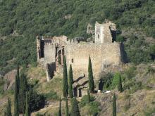 Châteaux de Lastours By Mathieu MDCC BY-SA 3.0 via Wikimedia Commons