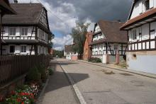 Le village d'Hunspach (source : wiki)