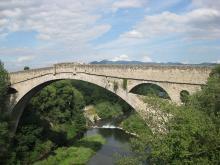 Le Pont du Diable (Céret) By Mara. (Arteyfotografia.com.ar) via Wikimedia Commons