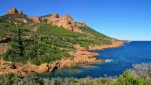 Calanque du Petit Canereit - Massif de l'Esterel