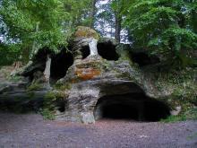 Grotte Ermitage Massif de la Serre
