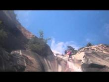 Vidéo la cascade de Bavella