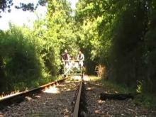 Vélorail et Train de Charente-Limousine en vidéo