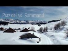 Praz de Lys Sommand en vidéo
