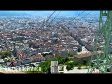 Téléphérique de Grenoble-Bastille en vidéo