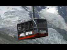 Le téléphérique de l'Aiguille du Midi en vidéo